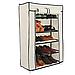 Стеллаж для хранения обуви Combination Shoe Frame 60X30X90  5 полок 3490VJ, фото 5