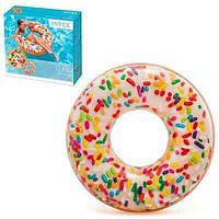 Intex Круг Пончик с присыпкой 114см, от 14-ти лет - 218630