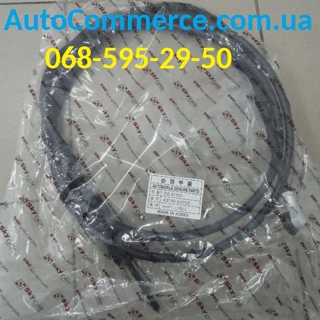 Трос КПП переключения передач Hyundai HD120 (хюндай hd120) 437406A250