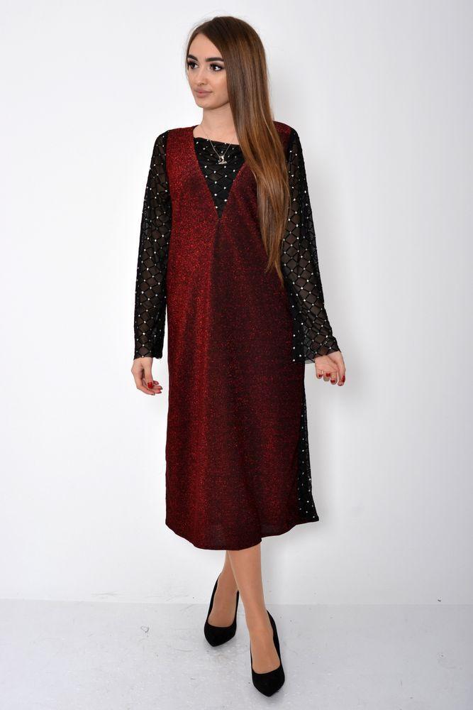 Платье женское цвет Красный размер 38