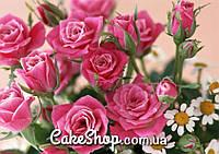 Вафельная картинка Розы 1