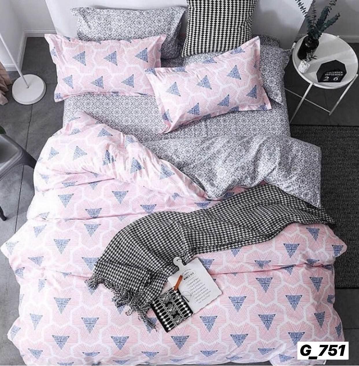 Семейный комплект постельного белья Голд бязь люкс