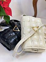 Модна сумочка BOTTEGA VENETA Padded Cassette (репліка), фото 1