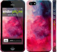 """Чехол на iPhone 5s Мазки краски """"2716c-21"""""""