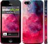 """Чехол на iPhone 5 Мазки краски """"2716c-18"""""""