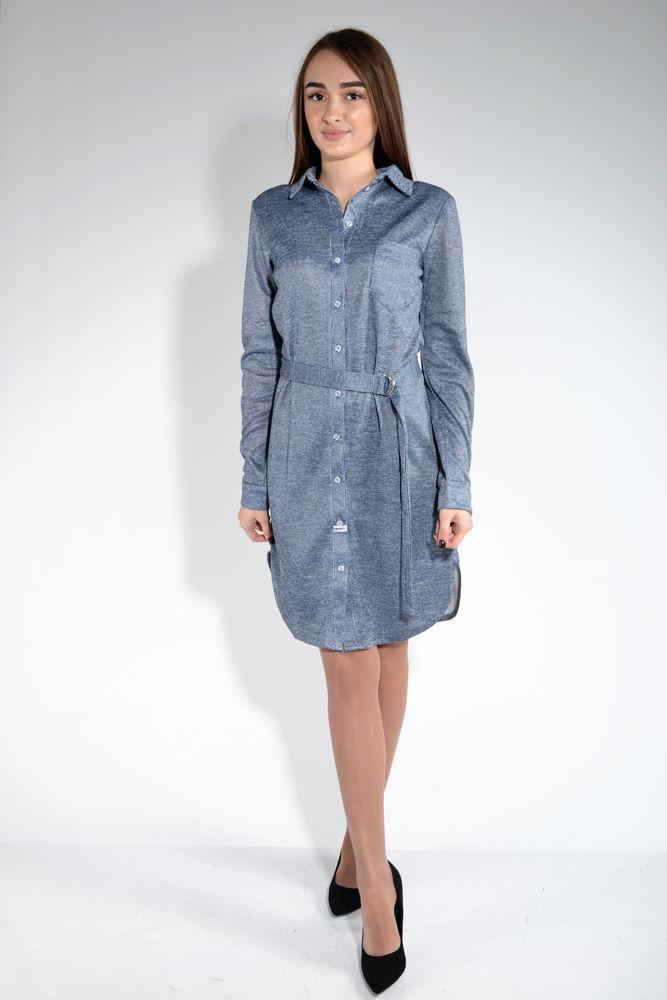 Платье цвет Серо-синий