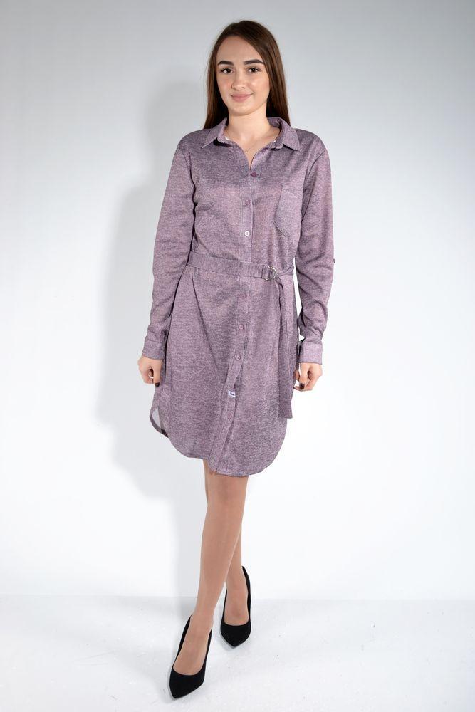 Платье цвет Сиренево-серый