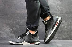 Модные кроссовки Nike Air Jordan Flight,нубук,серые