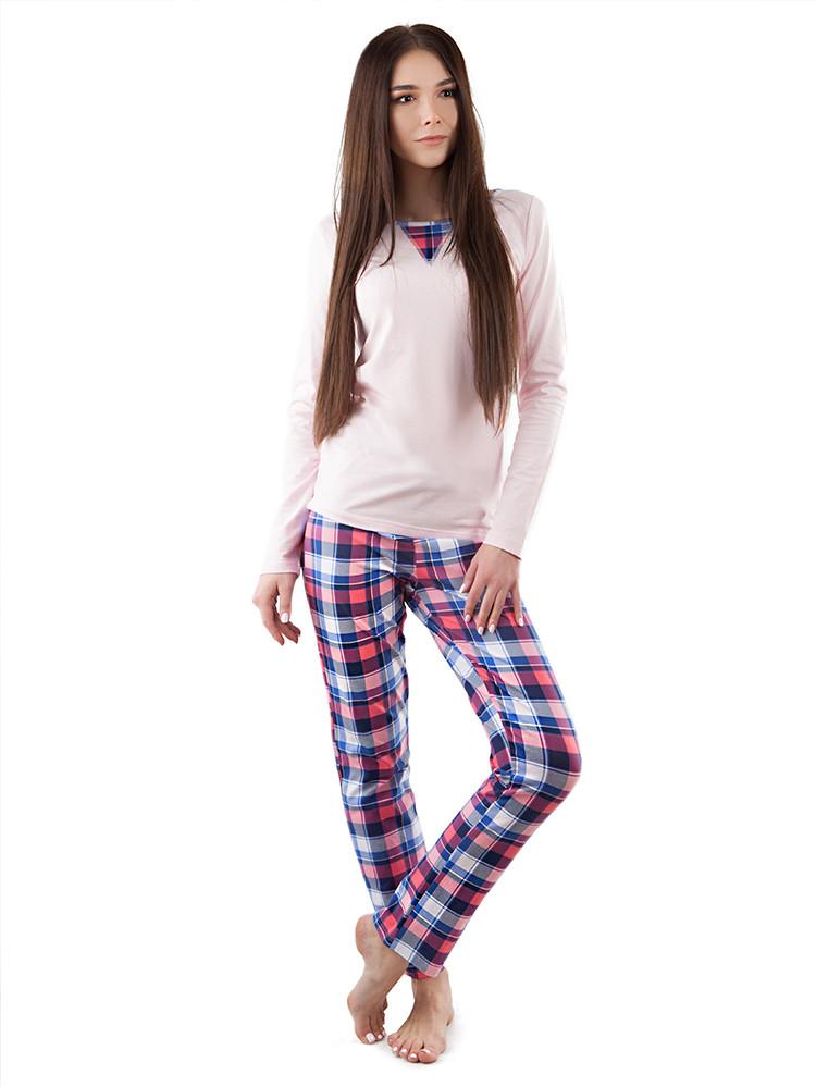 Модная женская хлопковая пижама. Костюм для дома