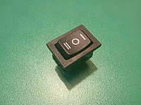 Переключатель, кнопка, выключатель, тумблер 3 положения 3 контакта. 10 x 15 мм, фото 1