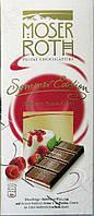 """Шоколад """"Moser Roth"""" Himbeer Panna Cotta - Малина Панна Котта, 187,5 г (Німеччина)"""
