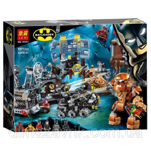 """Конструктор Bela 11353 (Аналог Lego Super Heroes 76122) """"Вторжение Глиноликого в бэт-пещеру"""" 1071 детал"""