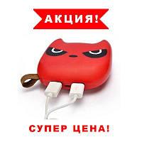 SALE! Power Bank ANAN Злой бэтмен 12000 mAh Красный. Внешний аккумулятор Bank Totoro Littl, фото 1