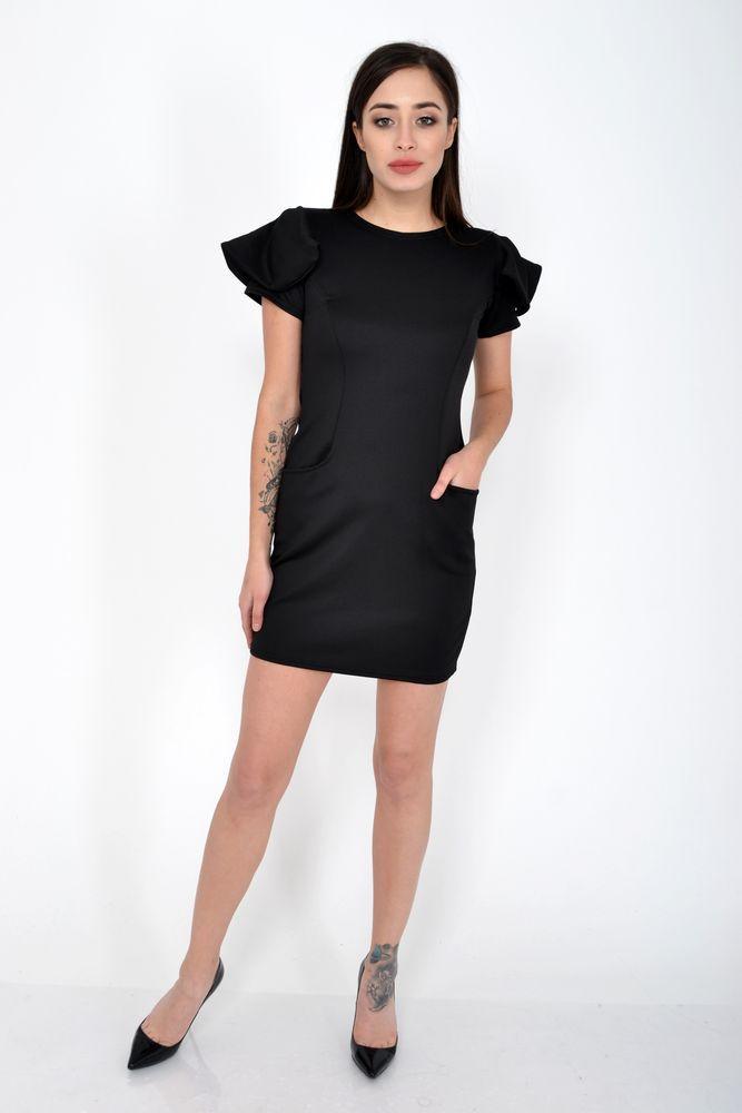 Платье женское цвет Черный размер S-M