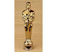 Статуэтка Оскар керамическая золотистая 27 см