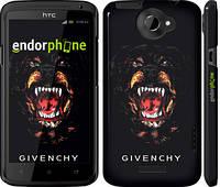 "Чехол на HTC One X Givenchy ""838c-42"""