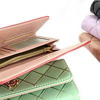 SALE! Женский кошелек-клатч с короной стеганый Crown, фото 1