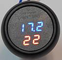Пристрій 3 in1 ZIRY VST-706 зарядне, термометр, вольтметр, фото 3