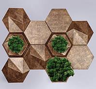 3D панели под мох - Green Premium