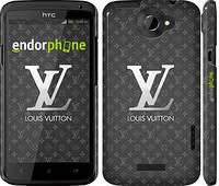 "Чехол на HTC One X Louis Vuitton 3 ""457c-42"""