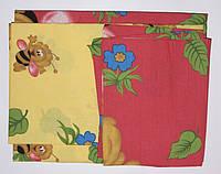 Комплект пастельный детский 3 предмета бязь Пчелка.