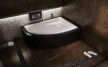 Акриловая ванна Cornea 140х80 (правая) Besco PMD Piramida, фото 3