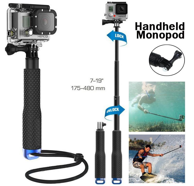 Профессиональный монопод для GoPro