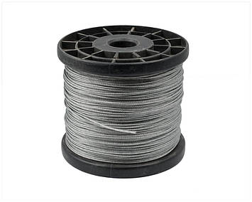 Трос стальной  MMG DIN 3060 6 х 19  6 мм (Цинк)  1 метр