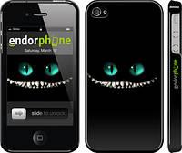 "Чехол на iPhone 4 Чеширский кот ""689c-15"""