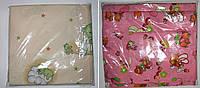 Комплект пастельный детский 3 предмета бязь розовый ,бежевый арт 291.