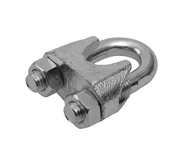 Зажим канатный для троса MMG DIN 741 3 мм (Цинк)  1 шт