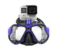Маска для дайвинга с креплением для GoPro, фото 1