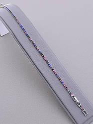 Браслет XUPING Фианит 17 см родиевое покрытие
