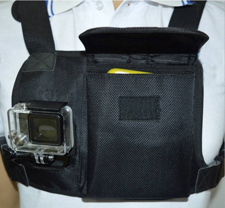 Крепление на грудь для экшен камеры GoPro, Xiaomi Chest Mount Harness, фото 2