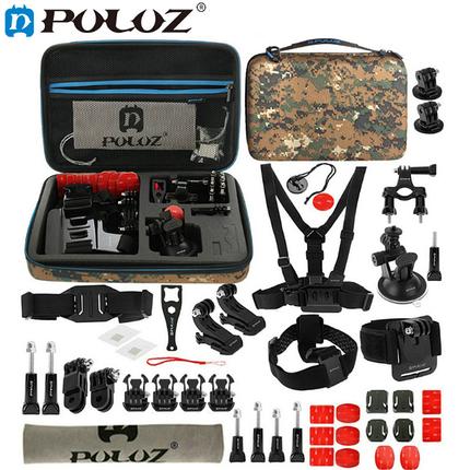Комплект аксессуаров Standart PULUZ 45 in 1  для GoPro, фото 2