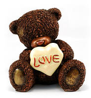Подарок любимой женщине на 8 марта. Шоколадная фигурка мишка Тедди, фото 1