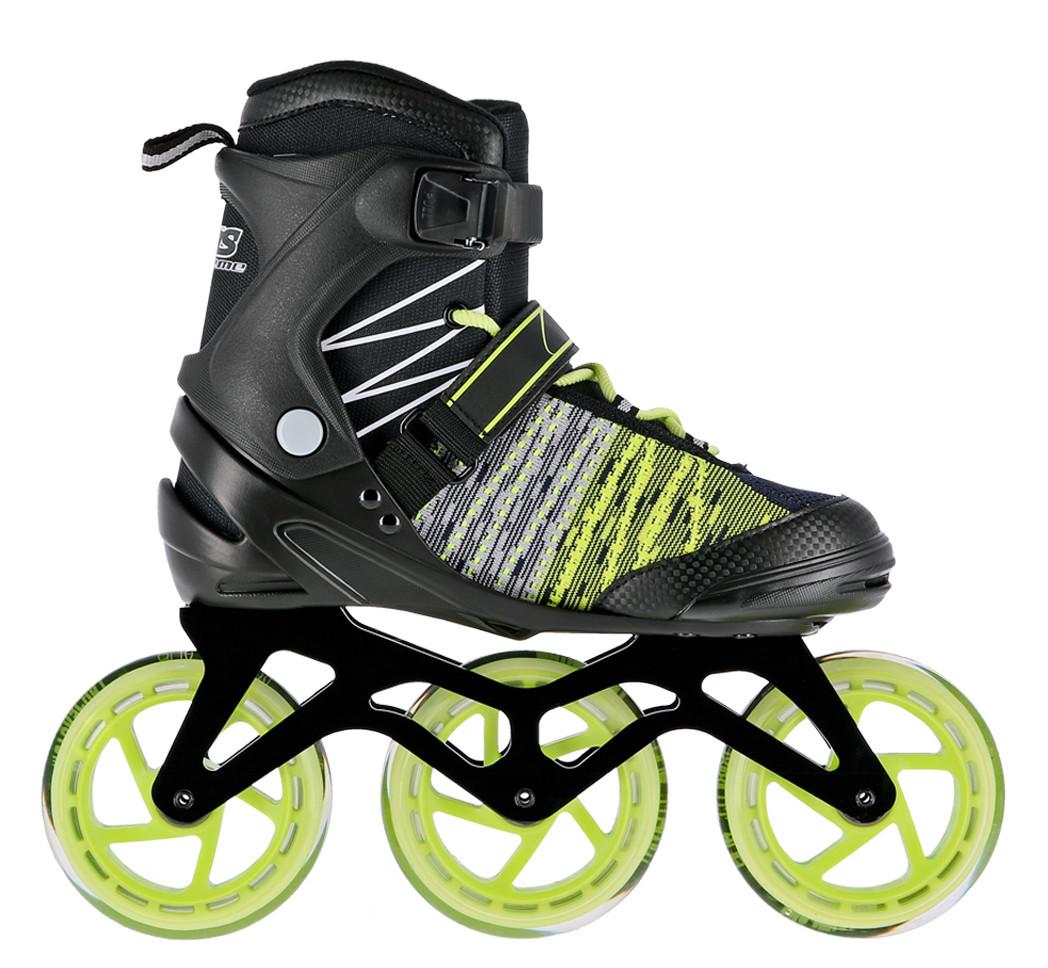 Роликовые коньки Nils Extreme NA1206 Size 42 Black/Green