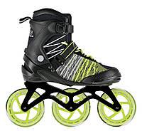 Роликовые коньки Nils Extreme NA1206 Size 42 Black/Green, фото 1