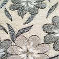 Плед снежок из микрофибры 200*230 цветы, фото 3