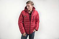 Модная зимняя мужская куртка с капюшоном
