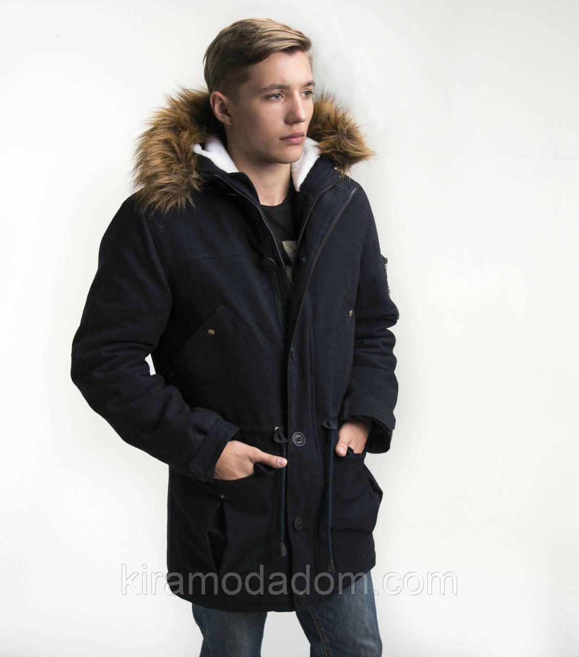9fe018f7 Мужская зимняя куртка парка молодежная коттон Украина 55 - Модный дом  одежды Кира в Харькове