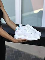 Кроссовки женскиеAlexander McQueen белые
