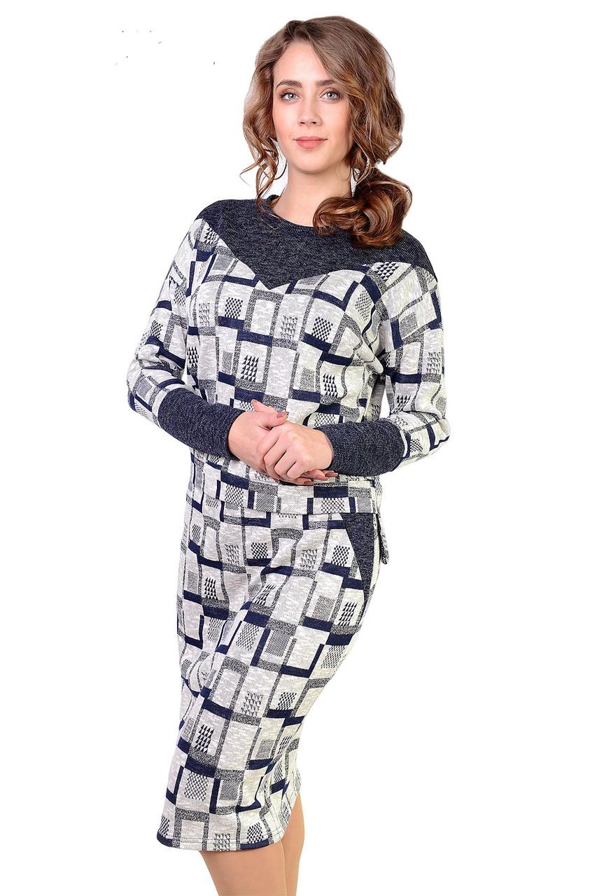 Нарядный женский костюм большого размера