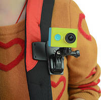 Набор Прищепка-крепление на рюкзак+ переходники  для GoPro, фото 1