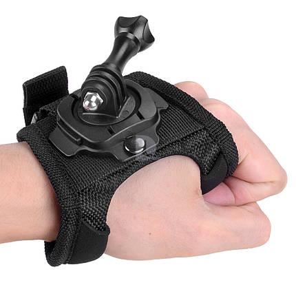 Крепление на кисть для GoPro с крепежом на 360°, фото 2