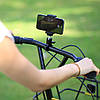 Металлическое крепление для GoPro на велосипед, на трубу 360°, фото 3