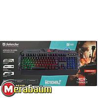 Клавиатура Defender Werewolf GK-120DL RU, RGB (45120)