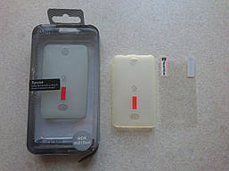 Чехол для Nokia 501 + плёнка