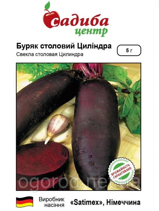 Свекла Цилиндра семена Satimex Германия 3 грамма