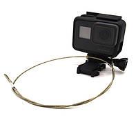 Страховочный металлический ремешок для GoPro (длина 60 см), фото 1